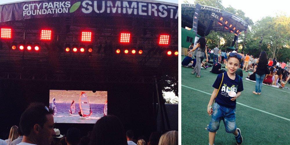 Summer Stage em Nova York