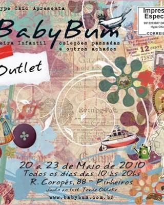 Convite Feira Baby Bum 2010