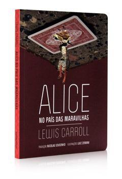 Livro Alice no País das Maravilhas, da Cosacnaify