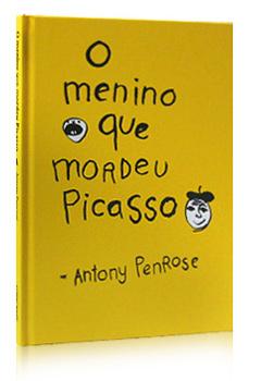 Livro O Menino que Mordeu Picasso, da Cosacnaify