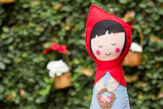 Decoracao de festa infantil da Chapeuzinho Vermelho