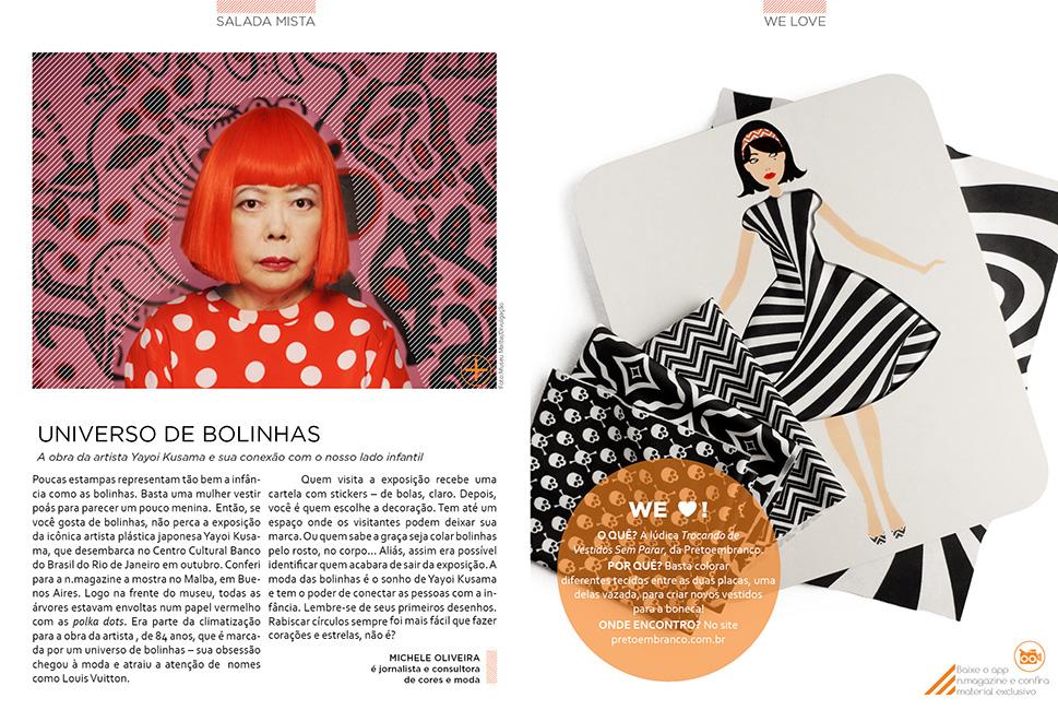 Revista n.magazine Primavera/Verão 2013.14 :: Salada Mista