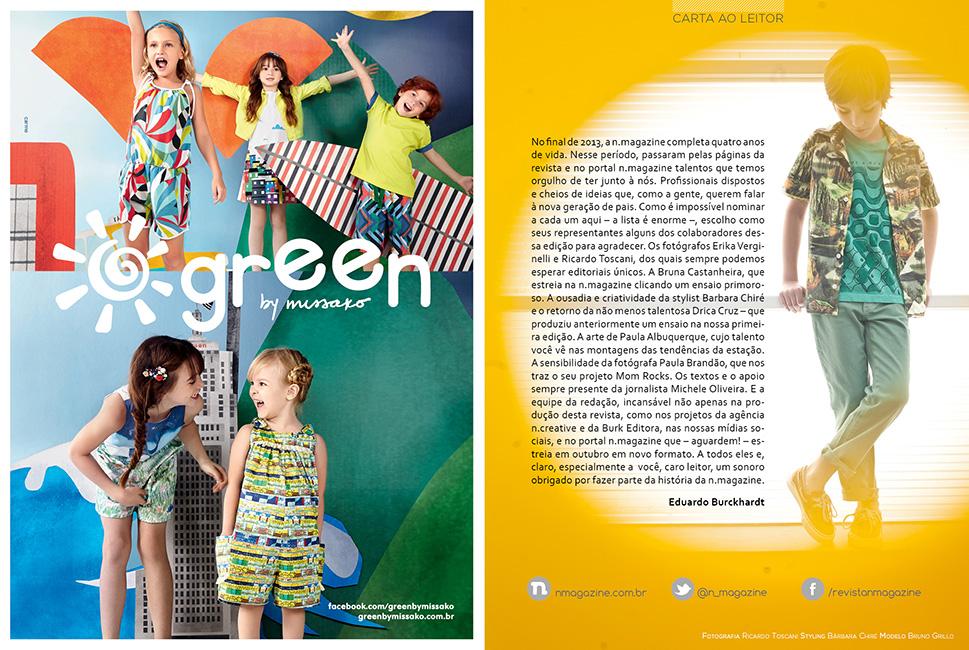 Revista n.magazine Primavera/Verão 2013.14 :: Carta ao leitor