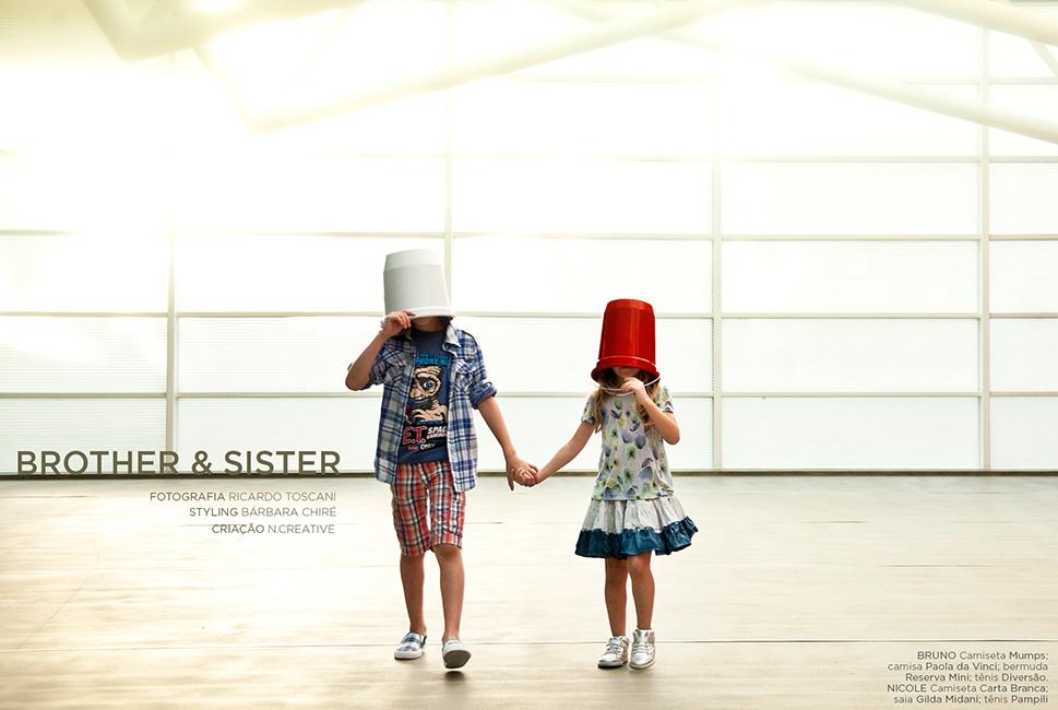 Ensaio :: Brother & Sister