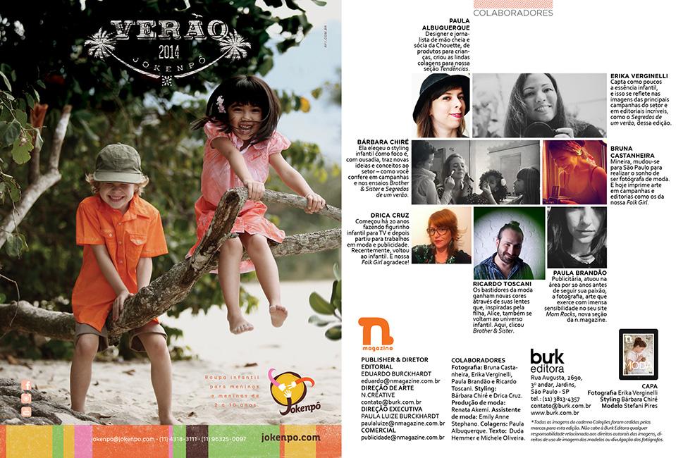 Revista n.magazine Primavera/Verão 2013.14 :: Colaboradores