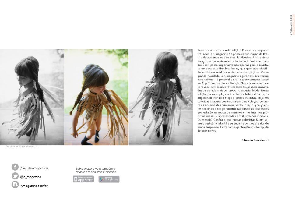 Revista n.magazine Primavera/Verão 2012.13 :: Carta ao leitor