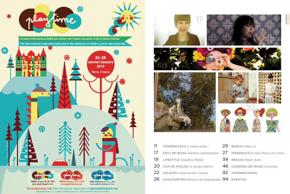 Revista n.magazine Primavera/Verão 2012.13 :: Sumário