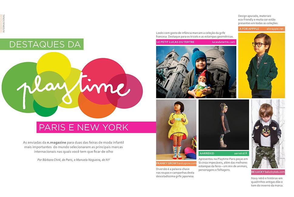 Revista n.magazine Outono/Inverno 2013 :: Playtime