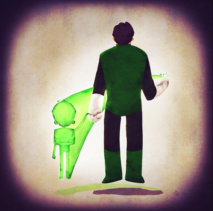 super+families+lanterna+verde