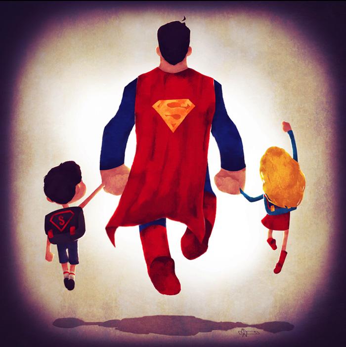 super+families+superman