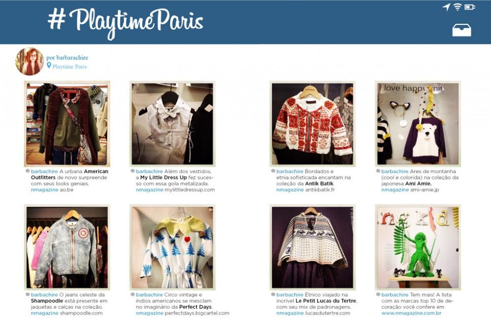 Revista n.magazine Outono.Inverno 2014 :: Playtime Paris