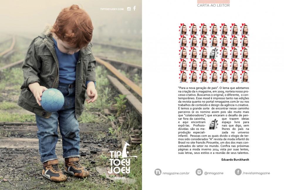 Revista n.magazine Outono.Inverno 2014 :: Carta ao leitor