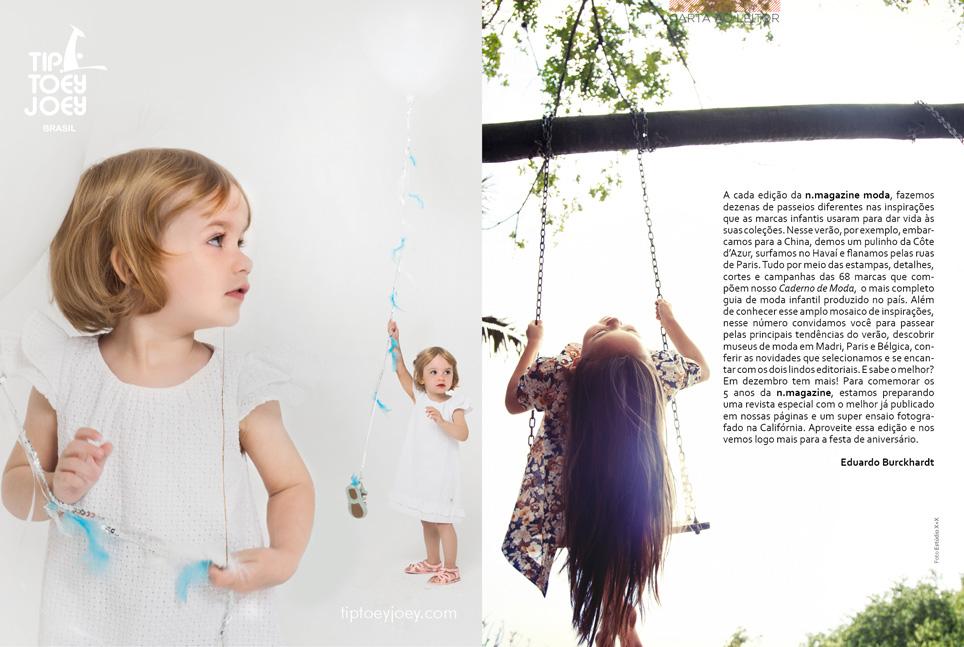 Revista n.magazine Primavera/Verão 2014.15 :: Carta ao leitor