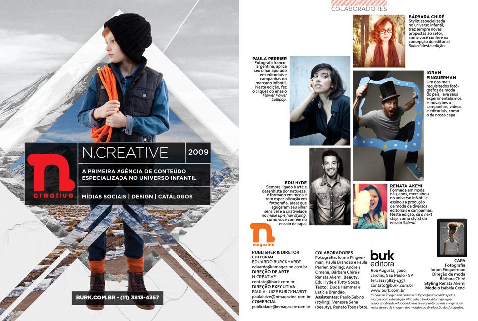 Revista n.magazine Primavera/Verão 2014.15 :: Colaboradores