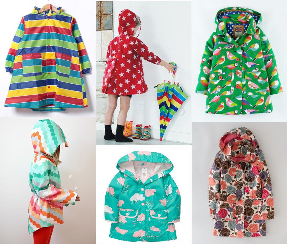 jaqueta impermeável infantil